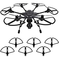 Owill Quick Release Propeller Guards Bumper Protector Frame Crashproof Shield Ring For Yuneec Typhoon H480 (Black)
