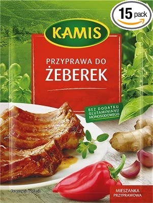 Amazon com : Kamis Seasoning for Ribs (Przyprawa do Zeberek), Pack