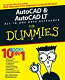 img - for AutoCAD & AutoCAD LT All-in-One Desk Reference For Dummies (For Dummies (Computer/Tech)) book / textbook / text book