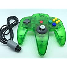 Generic Classic Nintendo 64 N64 Controller Clear Green