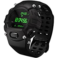Razer Nabu Watch Forged Edition Live Smarter Razer RZ18-01560100-R3U1 Nabu Watch Forged Edition, Black. Fitness Tracking Smartwatch with Long Battery Life. Links to Smartphone Apps and perfect for Gamers