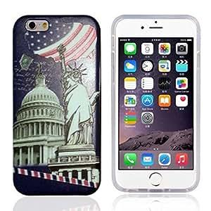 Generic Fashion iPhone 6 plus Case Custom The Statue of Liberty with Beautiful Sky Case for iPhone6 plus 5.5 wangjiang maoyi