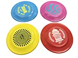 Wham-O Fastback Frisbee Dog Disc Misprints Assorted Colors - Four Pack