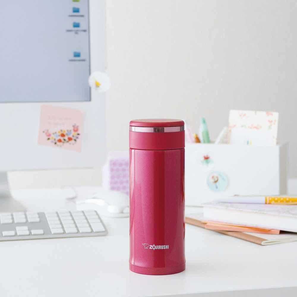 Zojirushi SM-JB36PU Tuff Mug, 12-Ounce/0.36-Liter, Strawberry Pink by Zojirushi