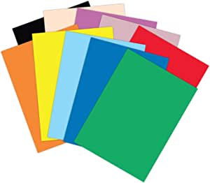 amazon com roselle 9x12 vibrant construction paper 50