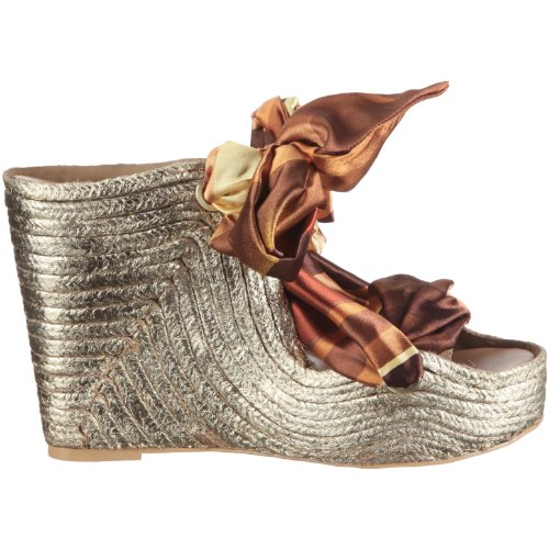 wandelei Golden Silkroad Sun 237 - Sandalias de vestir para mujer Dorado (Gold/Toffee)