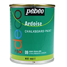 Pebeo 250 ml Deco Chalkboard Paint, Chalkboard Green by Pebeo