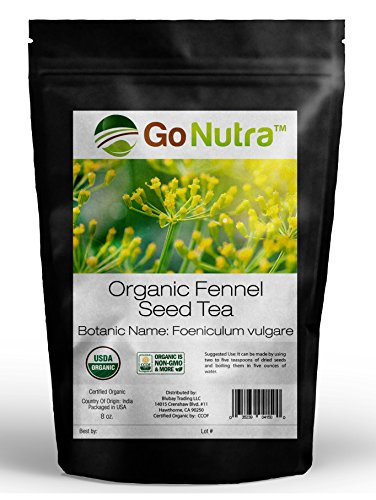 Fennel Seed Tea - Fennel Seed Tea Organic 8oz