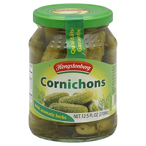 Hengstenberg Cornichons 12.5 OZ(Pack of 4) by Hengstenberg