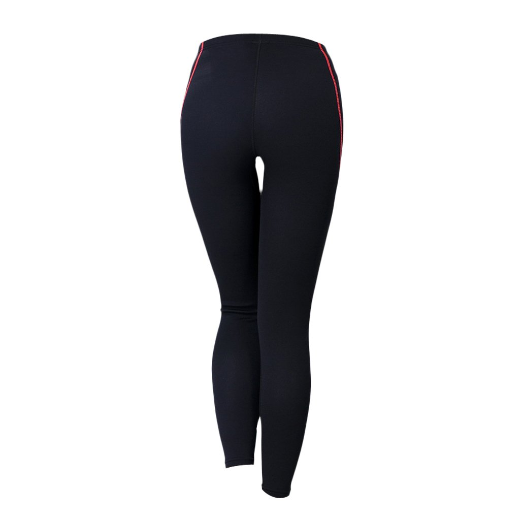 Toygogo 1.5mm Neoprene Stretch Surfing Scuba Dive Pants Wetsuit Skinny Long Trousers