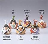 Japanese Hakata Doll Kabuki Tsutisuzu Kanjin Chou No.0679