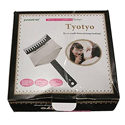 LuckyFine Hair Cutting Tools Hair Clipper Trimmer Bangs Comb Bangs Cut Supporter Bangs Accessories