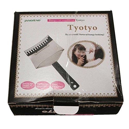 LuckyFine Hair Cutting Tools Hair Clipper Trimmer Bangs Comb Bangs Cut Supporter Bangs Accessories