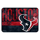 The Northwest Company NFL Houston Texans Embossed Memory Foam Rug, One Size, Multicolor