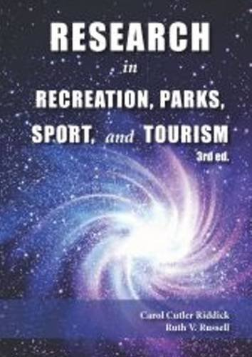Research In Rec.,Parks,Sport,+Tourism