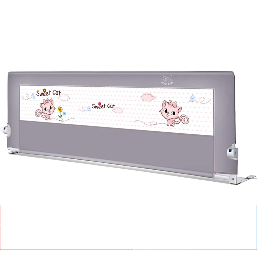 LHA ベッドガードフェンス 赤ちゃんアンチ倒立ベッドガードレール、調節可能な高さベッドのフェンス、150センチメートル、180センチメートル、200センチメートル (サイズ さいず : L-200cm) L-200cm  B07L6X2338