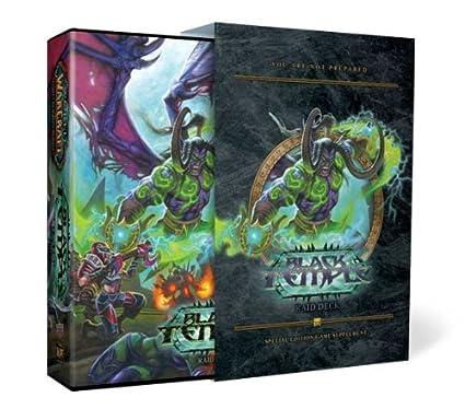 Amazoncom Upper Deck World Of Warcraft Black Temple Raid Deck