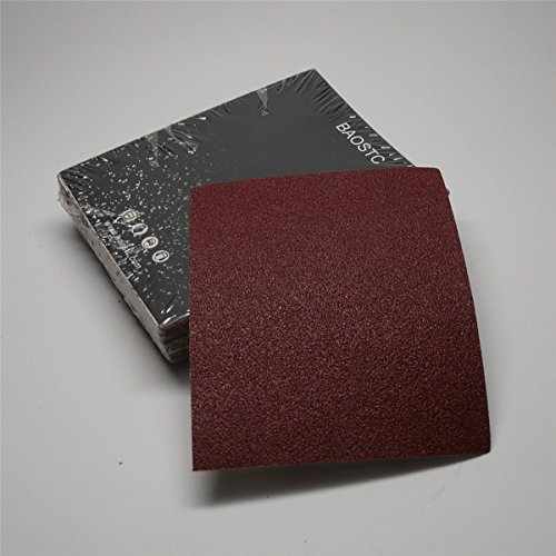 BAOSTC 1/4 sandpaper sheet,4-1/2''*5-1/2'' Assorted120-180-240,50PACK by BAOSTC