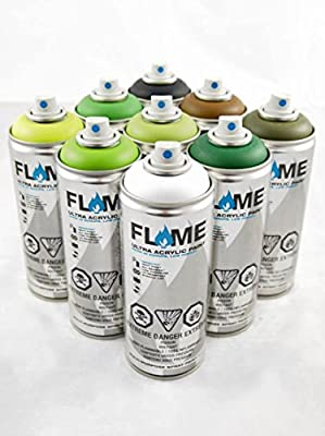 FLAME Diamond Packs - FOREST PACK (9 Cans)