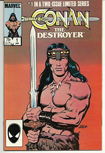 STAN LEE PRESENTS: CONAN THE DESTROYER VOL. 1 NO. 1 JANUARY 1985 + VOL. 1 NO. 2 MARCH 1985