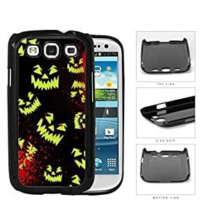 Halloween Scary Face Glow And Blood Splatter Hard Plastic Snap On Cell Phone Case Samsung Galaxy S3 SIII I9300