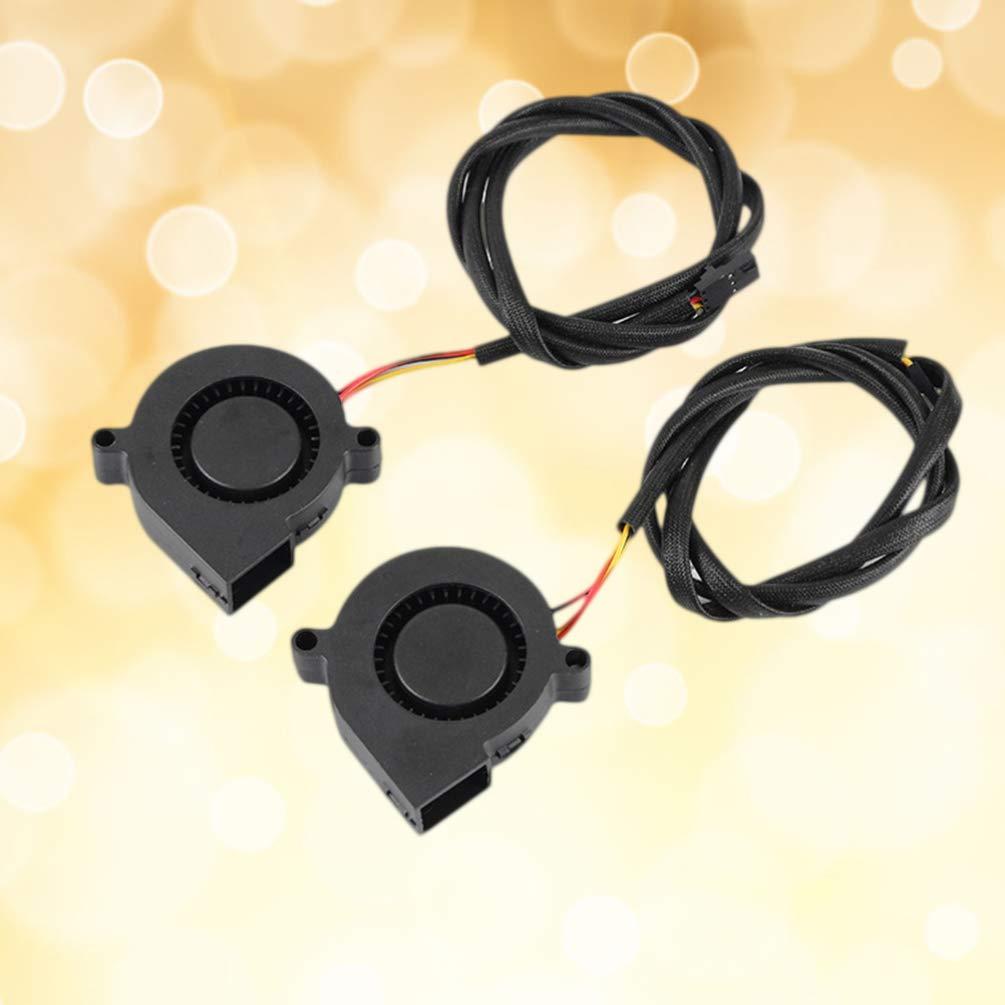 Ventilador de plástico Ultechnovo 5015 Dc 12 V, compatible con ...