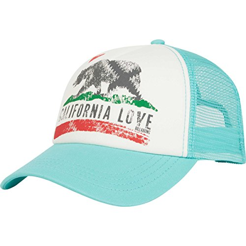 Billabong Women's Pitstop Trucker Hat MO-Mint One (Billabong Trucker Hat)