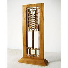 Frank Lloyd Wright Tree of Life Hardwood Mini Screen