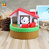 Piggy Bank Money Box Automatic Stealing Coin Hungry monkey Cent Penny With Voice Christmas/Birthday Gift for Kids