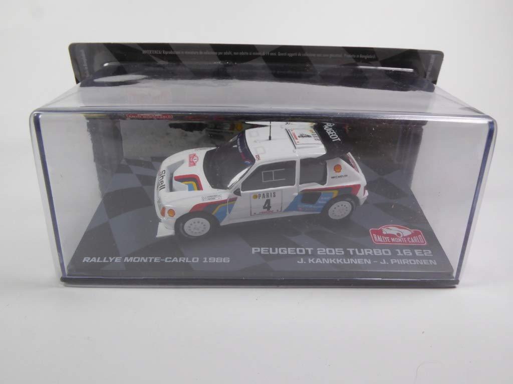 Générique Peugeot 205 Turbo 16 E2 1986 Kankkunen (BR7): Amazon.es: Juguetes y juegos