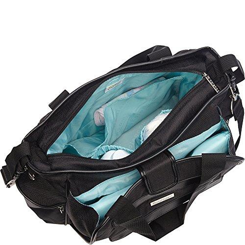 Kalencom Nola Tote Diaper Bag (Navy Feathers) by Kalencom (Image #1)