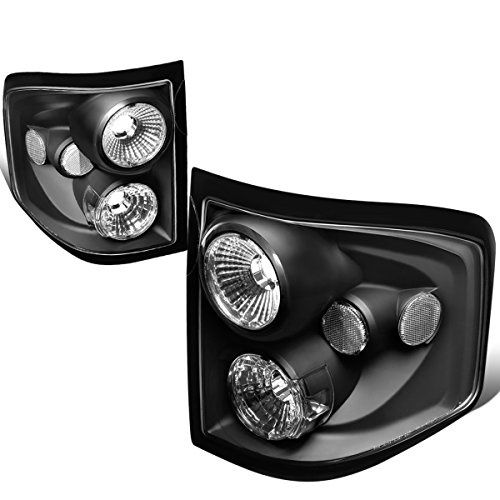 - For 2004-2008 Ford F150 Flareside Pair Black Housing Altezza Style Tail Light Brake/Parking Lamps