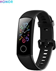 "Honor Band 5 Bracelet Intelligent 0,95""Grand Full Color AMOLED Affichage Fitness Surveillance Intelligente 5ATM Montre Smart Watch Imperméable À l'eau (Noir)"