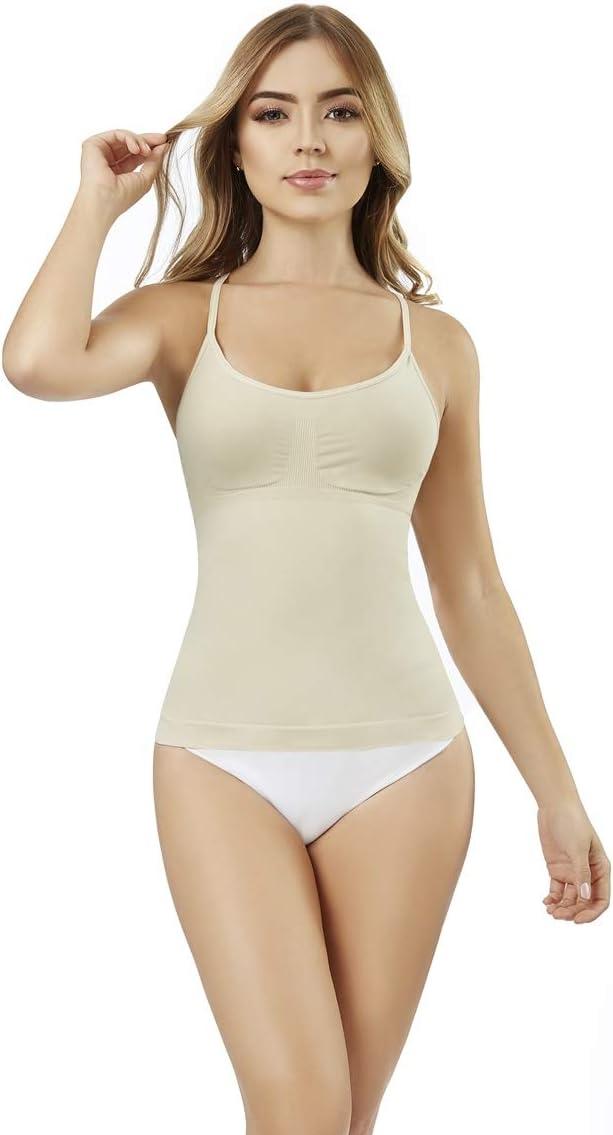 ShapEager Body Shaper Faja T-Shirt-Strapless Biocrystals-Shapewear Cincher