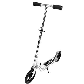 Patinetes para Adultos Scooter con Freno de Mano Ligero de ...