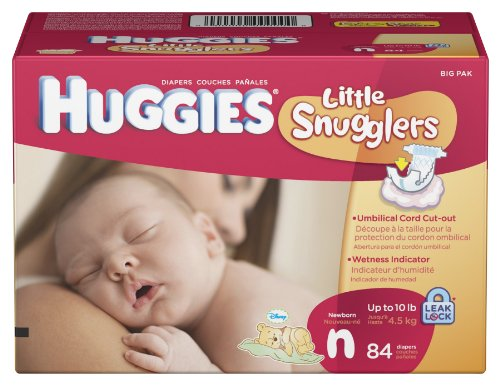 Huggies Little Snugglers Diapers Newborn