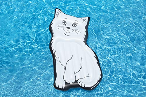 Swimline Purrrfect Kitty Mattress Pool Inflatable Ride-On, ()