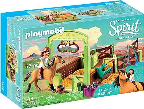 PLAYMOBIL Spirit Riding Free Lucky & Spirit with Horse Stall