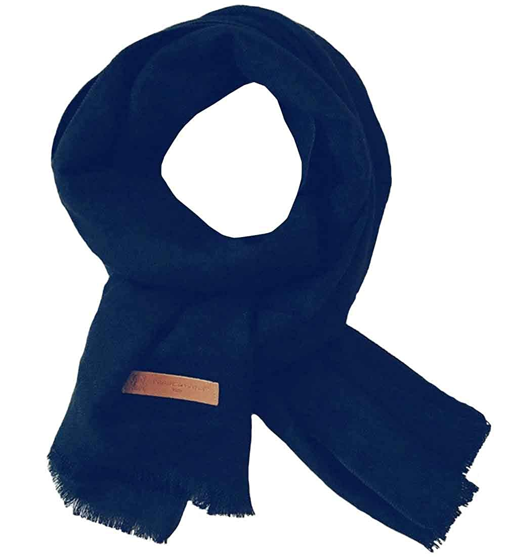 GERINLY Kids Soft Pure Color Neck Scarf Warm Wrap for Little Girls Boys Infinity Windproof a7e-69af726