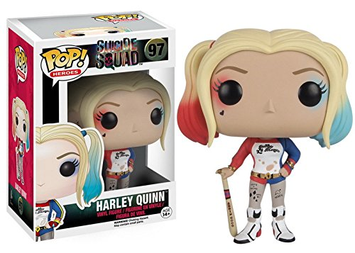 Funko Pop Heroes Suicide Squad Vinly Figure - Harley - Of Legend Story Spider The Christmas