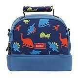 Portable Baby Bottle Insulated Bag Lunch Bag Picnic Handbag for Travel and Stroller (blue)