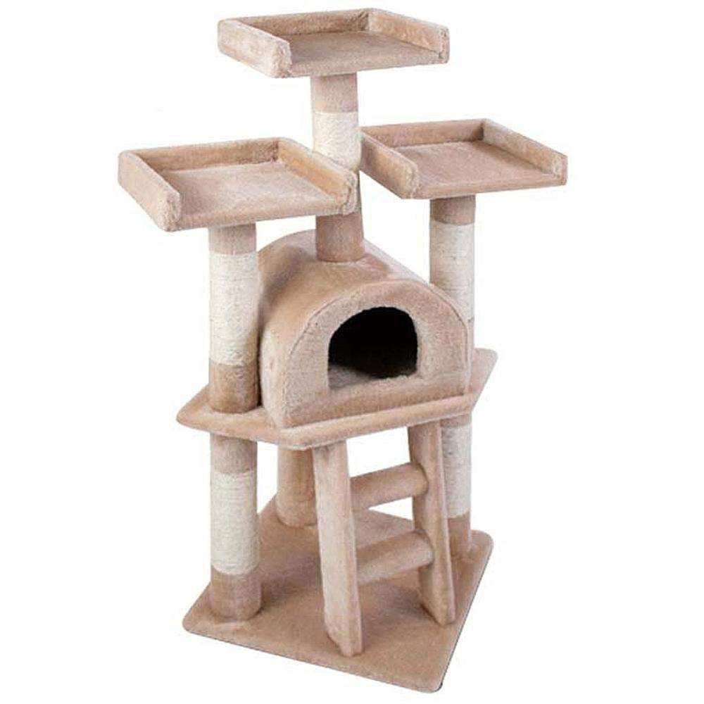 B Cat Furniture Play Towers and Trees cat Trees Towers Sisal Corrugated Cat Scratch Board sisal cat cat Nest Cat Toy 40  40  115cm (color   B)