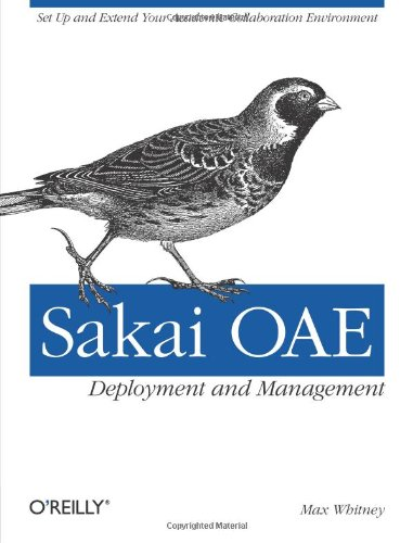 [PDF] Sakai OAE Deployment and Management: Open Source Collaboration and Learning for Higher Education Free Download | Publisher : O'Reilly Media | Category : Computers & Internet | ISBN 10 : 1449318762 | ISBN 13 : 9781449318765