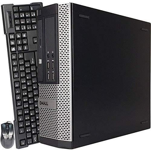Dell Optiplex 7010 DT High Performance Business Desktop Computer Intel Quad Core i5-3470 up to 3.6GHz, 8GB Memory, 240GB SSD, DVD, USB 3.0, Windows 10 Professional (Renewed)
