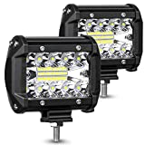 AMBOTHER LED Pods Light Bar 4-Inch 120-Watt