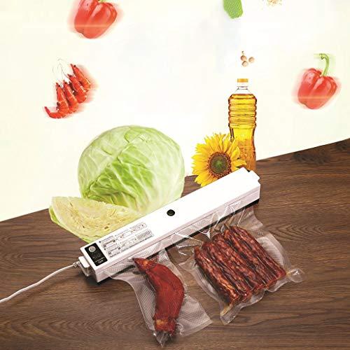 ☀ Dergo ☀ Automatic Household Vacuum Packaging Machine Food Packaging Equipment Tea Sealing Machine Small Vacuum Sealing Machine Vacuum Bag