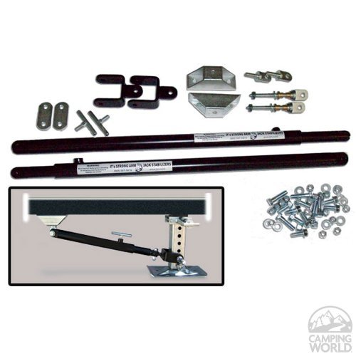 The Mobile Outfitters (191023) 5th Wheel Kit, Pack of 6