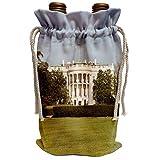3dRose Danita Delimont - Washington DC - USA, Washington DC, White House, US Presidential home - US09 LFO0160 - Lee Foster - Wine Bag (wbg_143513)
