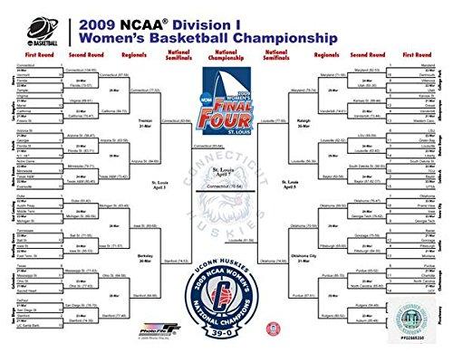 2009 Ncaa Final Four - 2009 NCAA Women's Final 4 Championship Bracket Photo (Size: 20