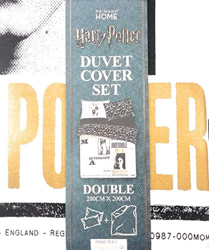 Primark Home Harry Potter Dumbledore Single Double Kingsize